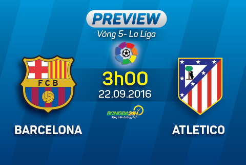 Preview: Barcelona - Atletico Madrid